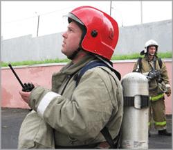 пожарный-с-радиостанцией