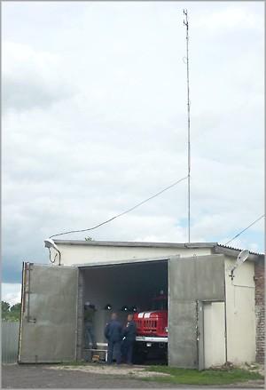 Закончен очередной этап обеспечения оперативной связью вновь создаваемых удаленных пожарных подразделений Новосибирской области 1