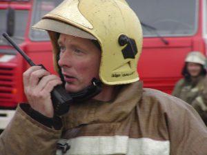 Пожарные будут на связи!