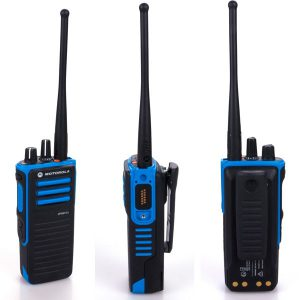 Цифровая носимая радиостанция MotoTRBO DP4801 Ex ATEX может работать в MPT1327