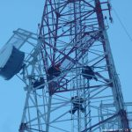 Крепление волновода антенны 1.8м Andrew