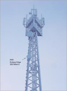 Башня компании «Мегафон» на Карьере «Восточный»