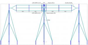 Схема антенны T3-FD
